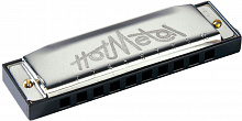 Губная гармошка HOHNER Hot Metal C (M57201X)