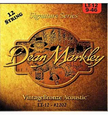 CТРУНЫ DEAN MARKLEY VINTAGE BRONZE 12-STRING 2202