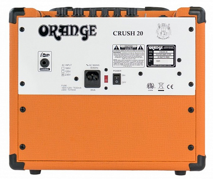 ГИТАРНЫЙ КОМБО ORANGE CRUSH 20