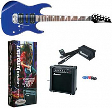 ГИТАРНЫЙ КОМПЛЕКТ IBANEZ GRX70DXJU JEWEL BLUE NEW JUMPSTART PACKAGE