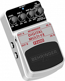 ГИТАРНЫЙ ЭФФЕКТ BEHRINGER FX600 DIGITAL MULTI-FX