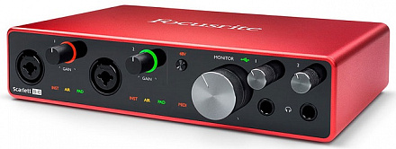Аудиоинтерфейс FOCUSRITE SCARLETT 8I6 3nd Gen