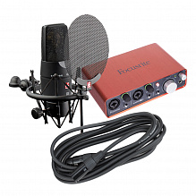 FOCUSRITE SCARLETT 2I2+ SE ELECTRONICS SE X1 VOCAL PACK - комплект