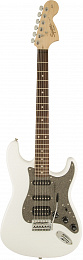 FENDER SQUIER AFFINITY STRATOCASTER HSS RW OLYMPIC WHITE