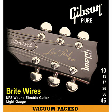 СТРУНЫ GIBSON SEG-700ML BRITE WIRES NPS WOUND