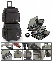 DJ ПАК ИЗ ДВУХ СУМОК UDG SLING BAG TROLLEY SET BLACK
