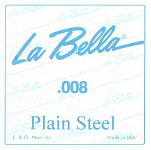 СТРУНА LA BELLA PLAIN STEEL PS008