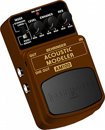 ГИТАРНЫЙ ЭФФЕКТ BEHRINGER AM 100 ACOUSTIC MODELER