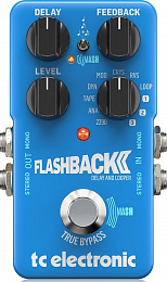 Гитарная педаль TC ELECTRONIC FLASHBACK 2 DELAY