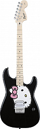 ЭЛЕКТРОГИТАРА FENDER SQUIER HELLO KITTY STRATOCASTER BLACK