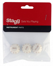 STAGG SP-KNST-WH